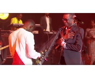 Youssou n'Dour et Sidikiba Diabaté