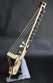 Kora Electroacoustique Active 22 cordes, 22 microphones, préampli mono + sortie stéréo passive