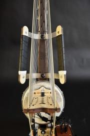Kora Electroacoustique Active 22 cordes, chevalet zérofeedback à 22 micorphones, poignées réglables comfort grip