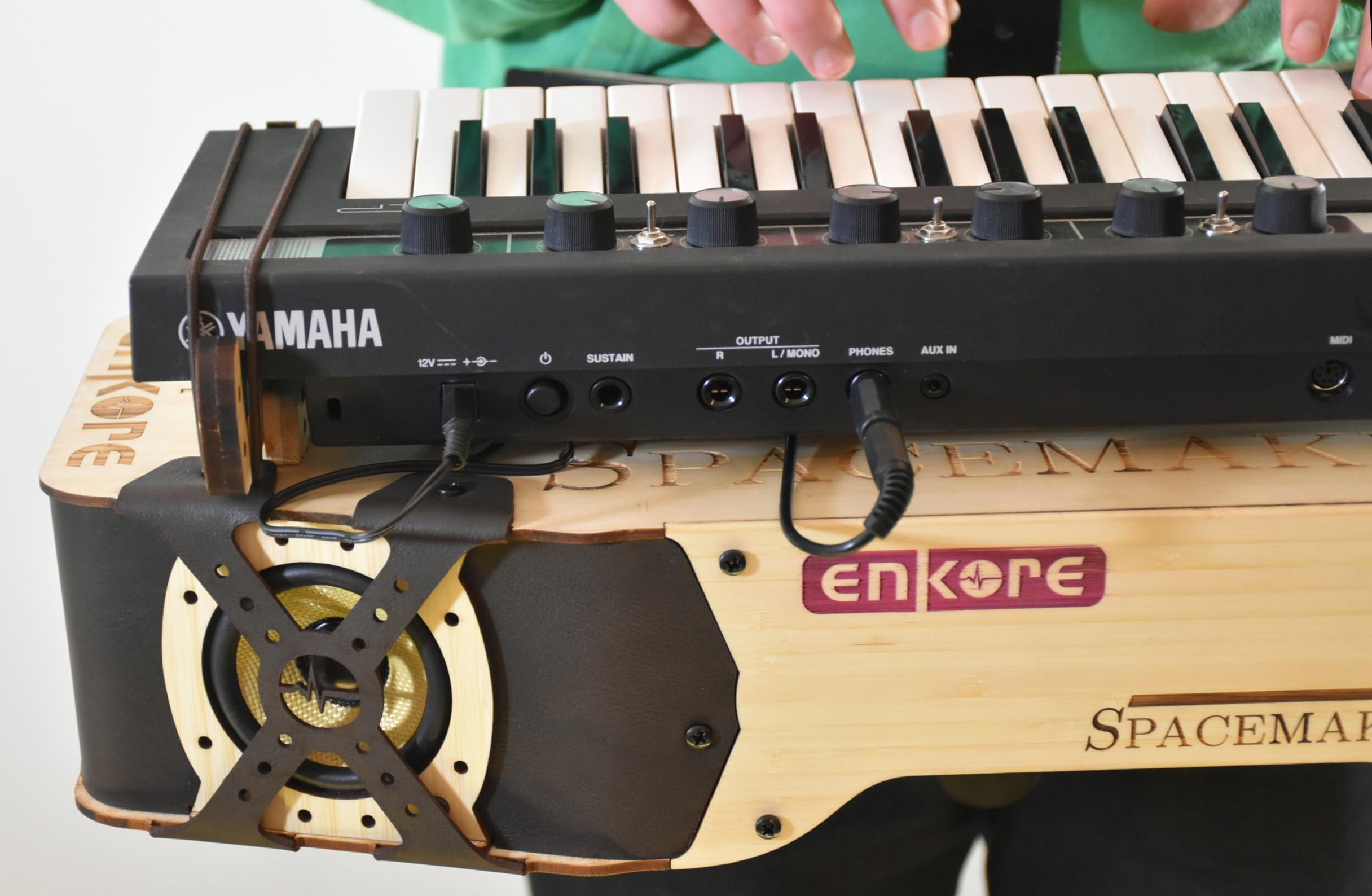 Ampli clavier keyboard 01