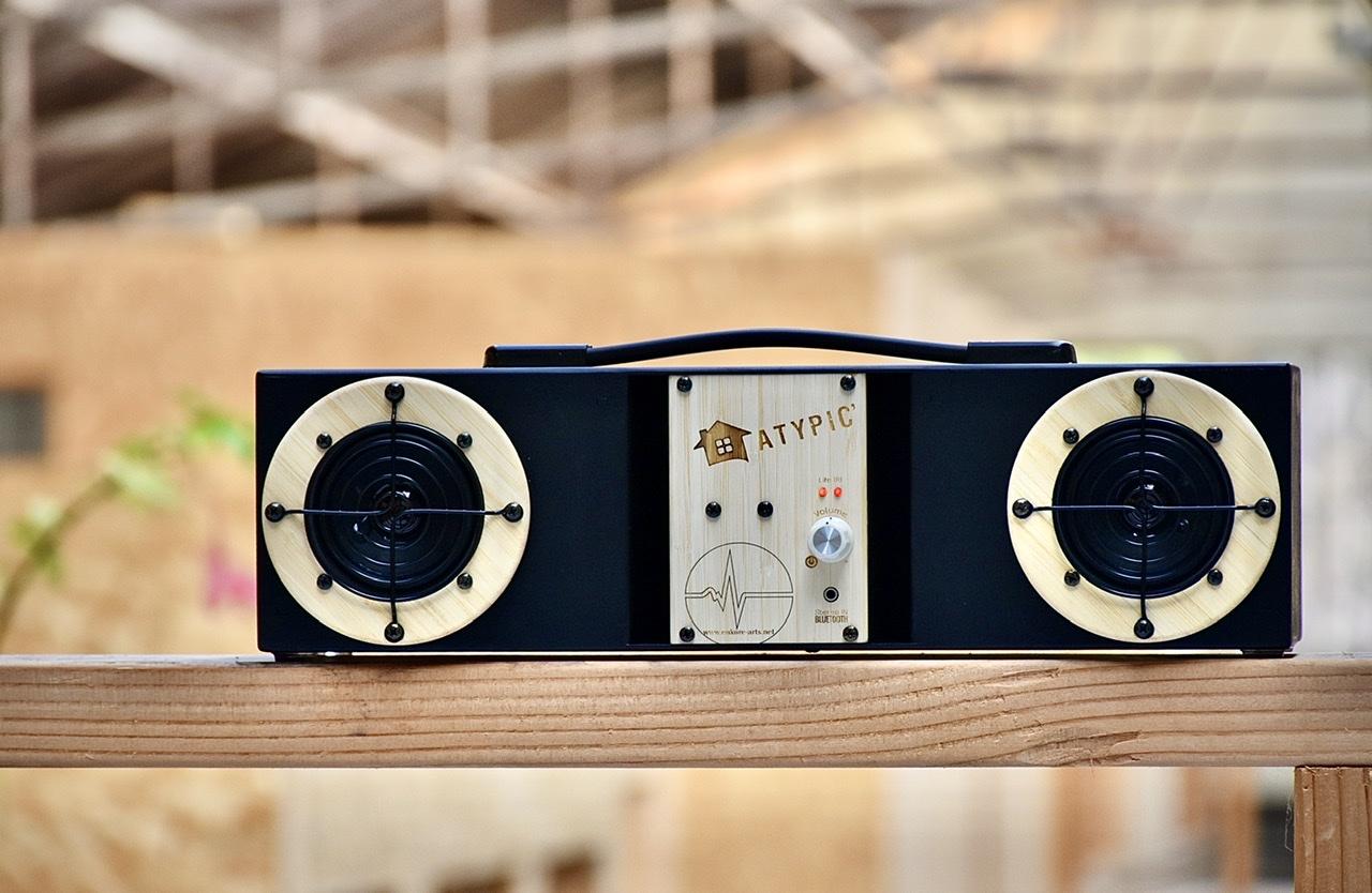 Enceinte hifi audio bluetooth personalisée fabriquée en France