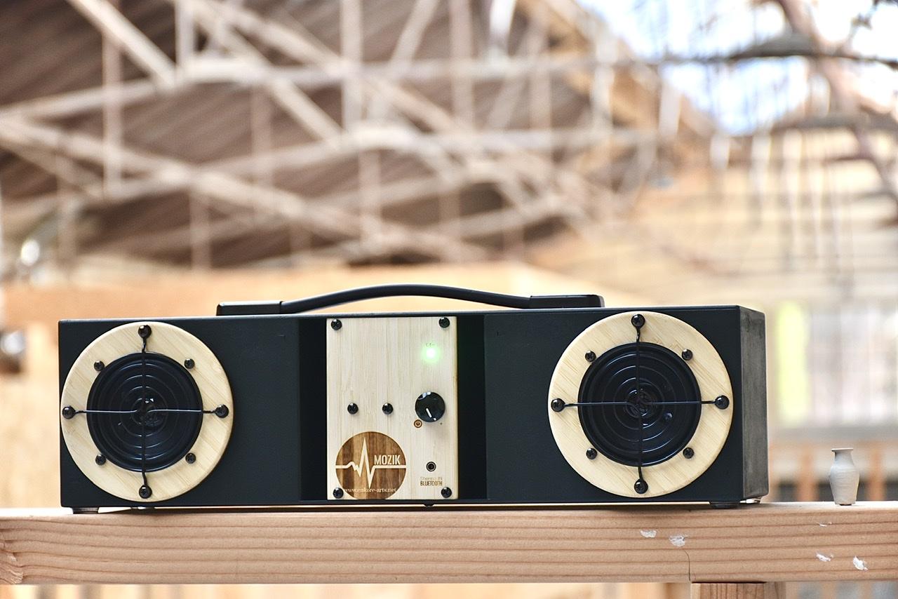 Enceinte hifi audio bluetooth fabriquée en France