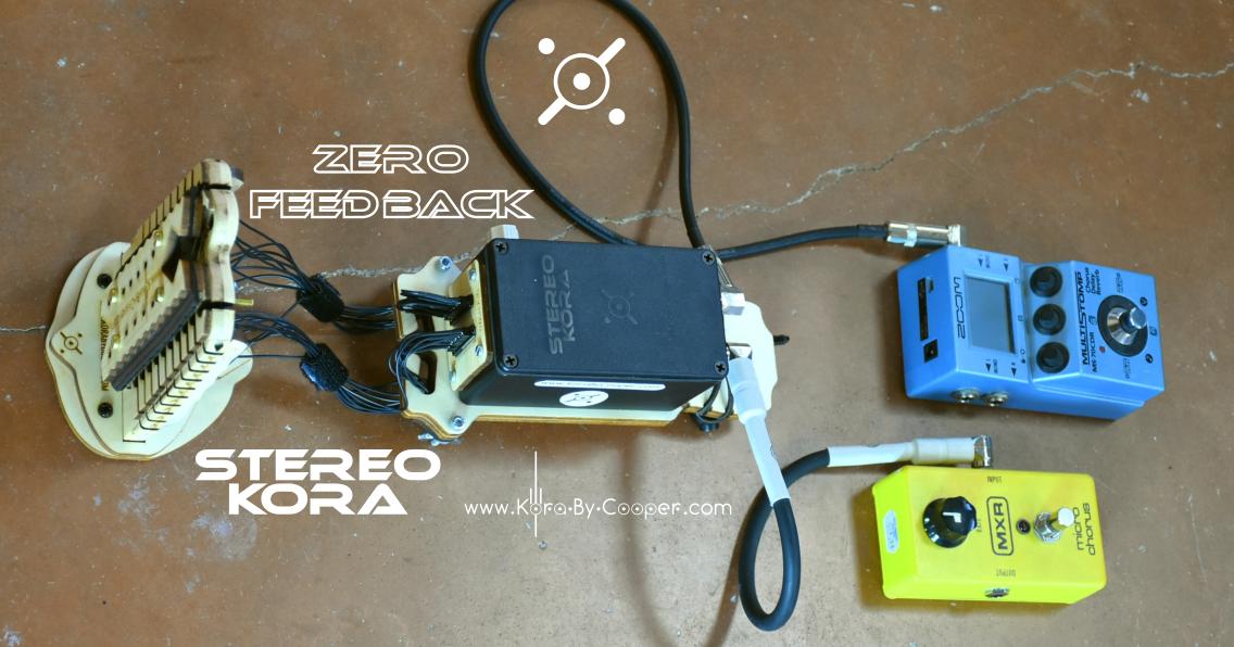 kora stereo electrique électroacoustique electric diabate cooper