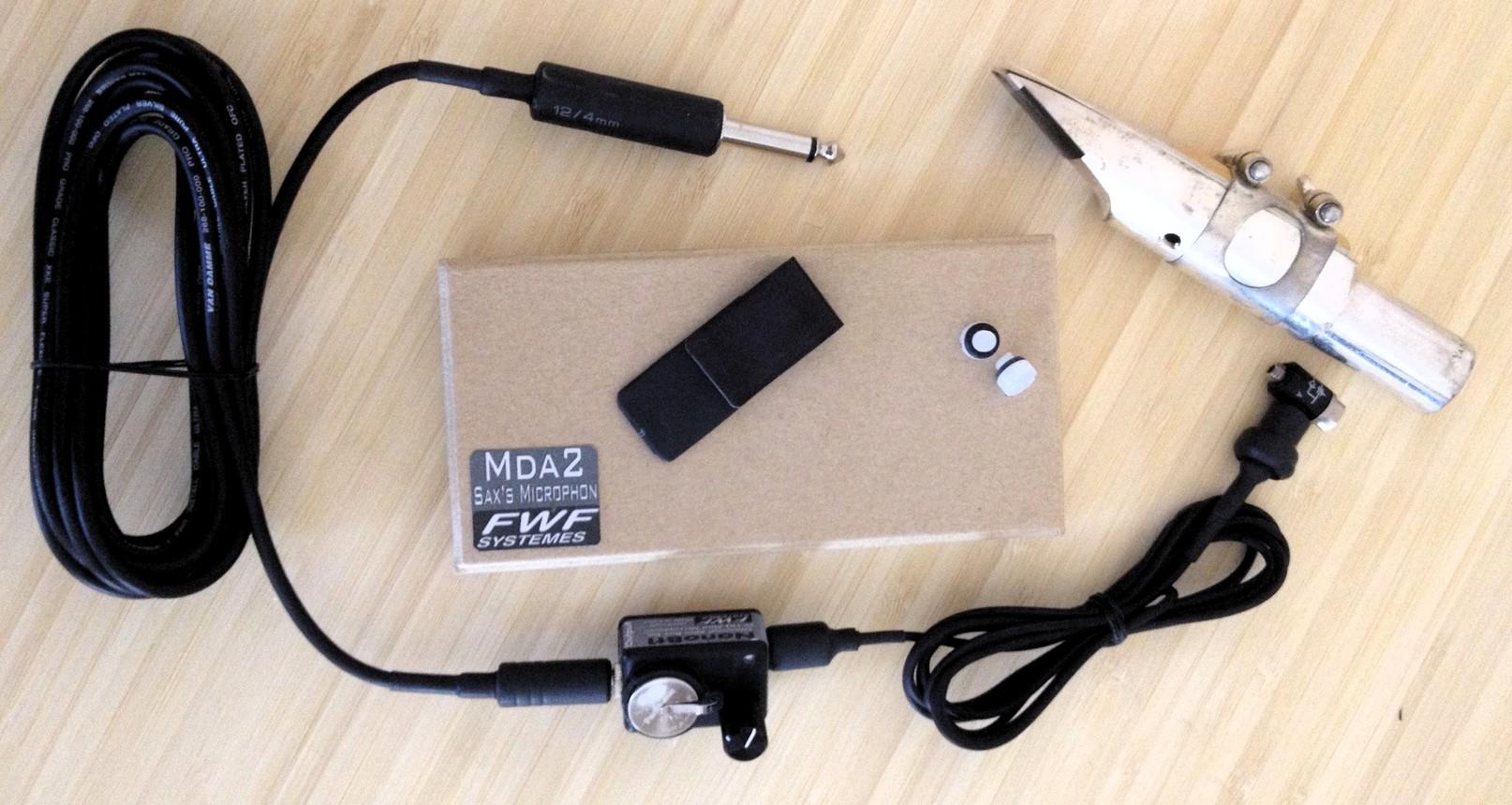 micro sax avec compresseur